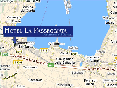 Hotels Desenzano del Garda, Map